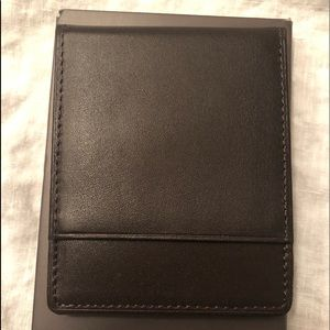Jos. A.  Banks front pocket wallet with clip